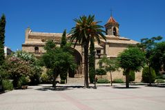 St. Pauls Church, Ubeda, Spain. Stock Photography