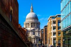 St Pauls kathedraal in Londen Stock Fotografie