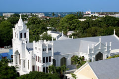 St. Pauls Kerk in Key West Florida Stock Foto