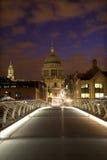 st pauls london собора моста самомоднейший Стоковое фото RF