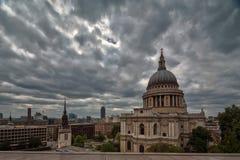 st pauls london собора Стоковая Фотография