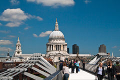 St Pauls, London Royalty Free Stock Photos