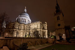 St Pauls of London Royalty Free Stock Photos