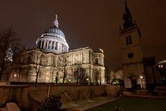 St Pauls Londyn Zdjęcia Royalty Free