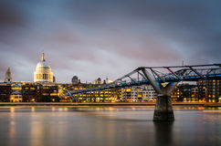 St Pauls by Night Royalty Free Stock Image