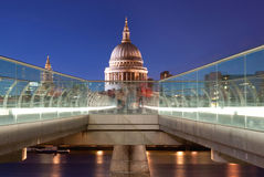St Pauls and River Thames Royalty Free Stock Image