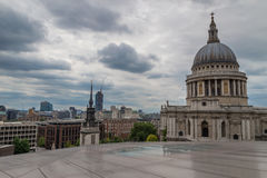 St. Pauls Skyline Stockfotos