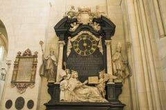 St-Paulus-Dom de las hermosas vistas en Alemania Foto de archivo libre de regalías