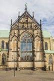 St Paulus Dom en el centro histórico de Munster Imágenes de archivo libres de regalías