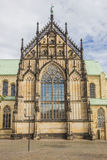 St. Paulus Dom in the historical center of Munster Royalty Free Stock Images
