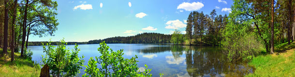 St. Peierburg. Lake Sapyornoye summer Royalty Free Stock Photography