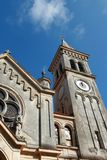 St.Pelagius church and the clock Royalty Free Stock Photography