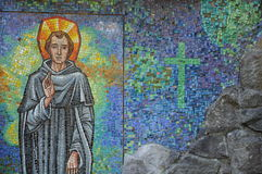St Peregrine Mosaic Royalty-vrije Stock Foto