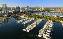 St. Pete Aerial View Stock Image