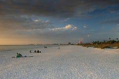 St Pete plaża Floryda Zdjęcie Royalty Free