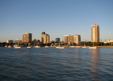 St. Pete Skyline Stock Foto's