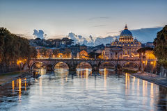 St. Peter's Basilica in Rome, Italy Royalty Free Stock Photo