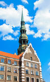 St. Peter�s Cathedral, Riga Stock Images