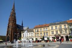 ST Peter και καθεδρικός ναός του Paul, Όσιγιεκ, Κροατία Στοκ εικόνα με δικαίωμα ελεύθερης χρήσης