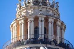 St Peter & x27; базилика s, государство Ватикан, Италия Стоковое фото RF