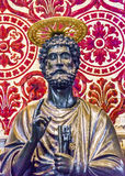 St Peter бронзирует базилику Ватикан Рим ` s St Peter статуи оно Стоковое Изображение