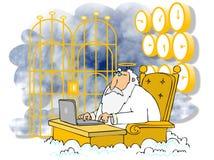St Peter на жемчужных стробах бесплатная иллюстрация