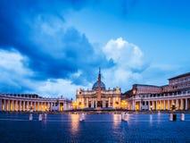St Peter Рим стоковое изображение rf