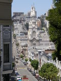 St Peter & chiesa del Paul a San Francisco fotografia stock libera da diritti
