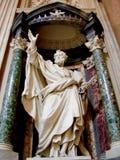 St Peter, Archbasilica St. John Lateran, Рима Стоковое фото RF