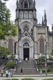 St Peter av den Alcantara domkyrkan i Petropolis, Rio de Janeiro royaltyfria bilder
