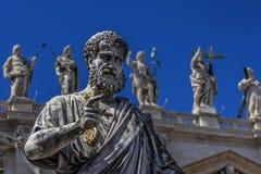 St Peter avec des clés dans la main Image libre de droits