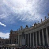 St Peter & x27; basílica de s em Cidade Estado do Vaticano, Roma fotografia de stock