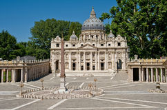 St Peter Basilica Royalty-vrije Stock Foto
