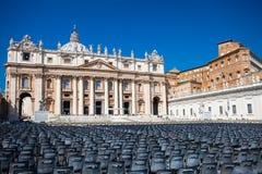 St. Peter Basilica Basilica Papale di San Pietro in Vaticano Stock Photography