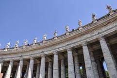 St Peter Basilica i Vaticanen royaltyfri fotografi