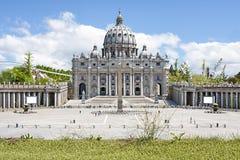 St Peter Basilica Rome Italy Mini Tiny Stock Photos