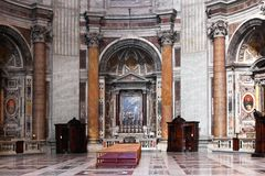 St Peter Basilica Stock Images