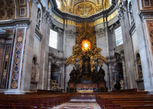 St. Peter Basilica in Vatican Royalty Free Stock Images