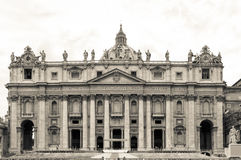 St. Peter Basilica , Vatican, Rome, Italy Stock Photography