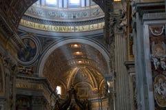 St. Peter Basiliek Stock Afbeelding