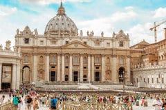 St Peter Basiliek Stock Afbeeldingen