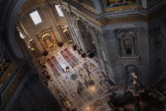 St Peter Basiliek Stock Foto's