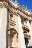 St Peter Basiliek in het Vatikaan Stock Fotografie