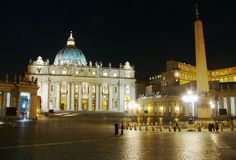 St. Peter basiliek, Rome Royalty-vrije Stock Foto's
