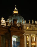 St. Peter basiliek, Rome Royalty-vrije Stock Foto