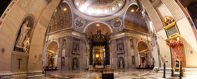 St peter basiliek Rome Italië Royalty-vrije Stock Foto