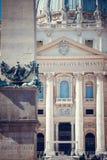 St Peter Basiliek, Vatikaan Stock Afbeeldingen