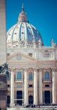 St Peter Basiliek, Vatikaan Royalty-vrije Stock Afbeelding