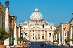 St Peter Basilika, Vatikan, Italien Lizenzfreies Stockbild