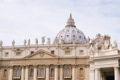 St Peter bazylika Obrazy Royalty Free